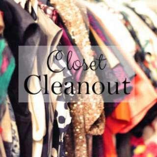 Closet Cleanout😍😍😍