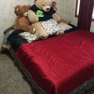 King Size Bed With Inner Spring Mattress