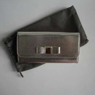 NEW Charles & Keith Wallet Original  Color : Gold