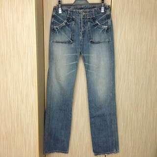 日本 John Bull 立體口袋牛仔褲