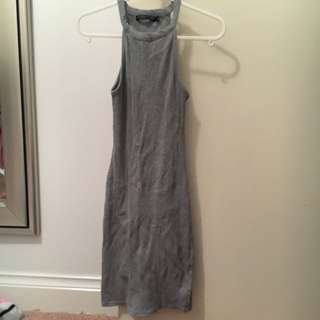 Grey Tight Dress