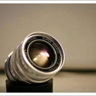 Chiyoko Rokkor 5cm F2 Leica Screw Mount (LTM)