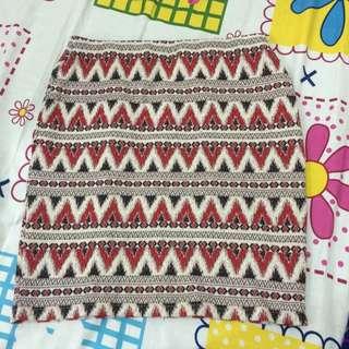 New Look Tribal Skirt