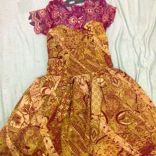 dres batik made in home