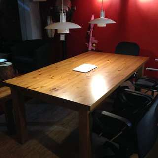 實木桌子 會議桌 餐桌
