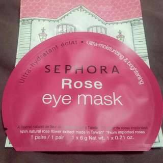 Sephora Rose Eye Mask
