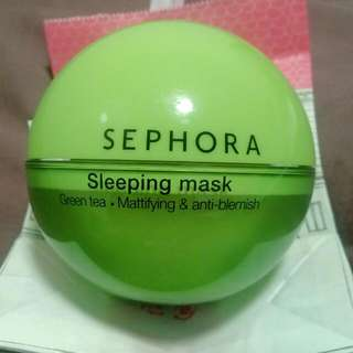 [Reprice] Sephora Green Tea Sleeping Mask