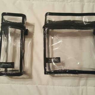 2 Mac Make Up Bags