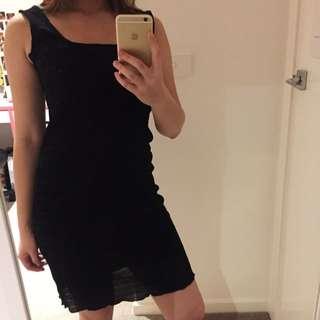 Ralph Lauren Black Stripped Dress