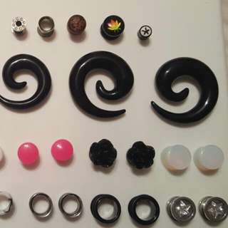 Spacers! All Different Sizes Ranging From 00G-4G.