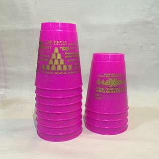 Pink Sport Stacking Cups (Not Speed Stacks)