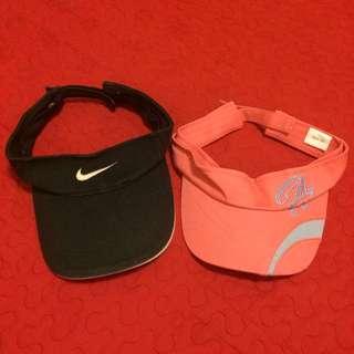 正品Nike、Hang Ten遮陽帽