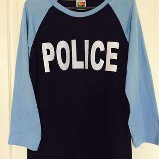 Police長袖上衣(男
