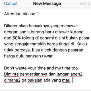 Note For Buyer