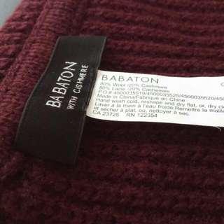 Babaton ROY Scarf - Burgundy