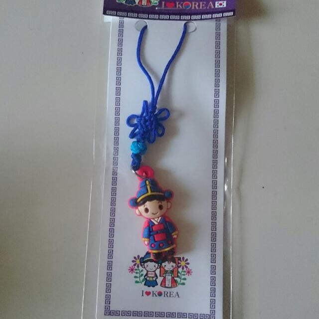 韓國傳統娃娃吊飾