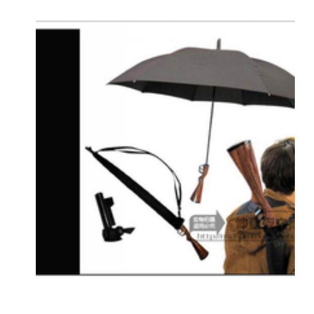 大號自動加長步槍晴雨傘槍傘  長柄傘創意雨傘