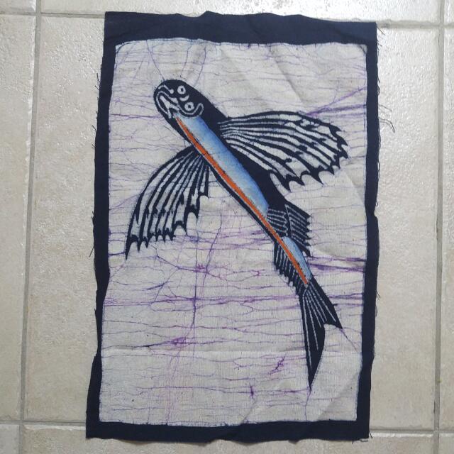 藍嶼 飛魚旗 民族風裝飾