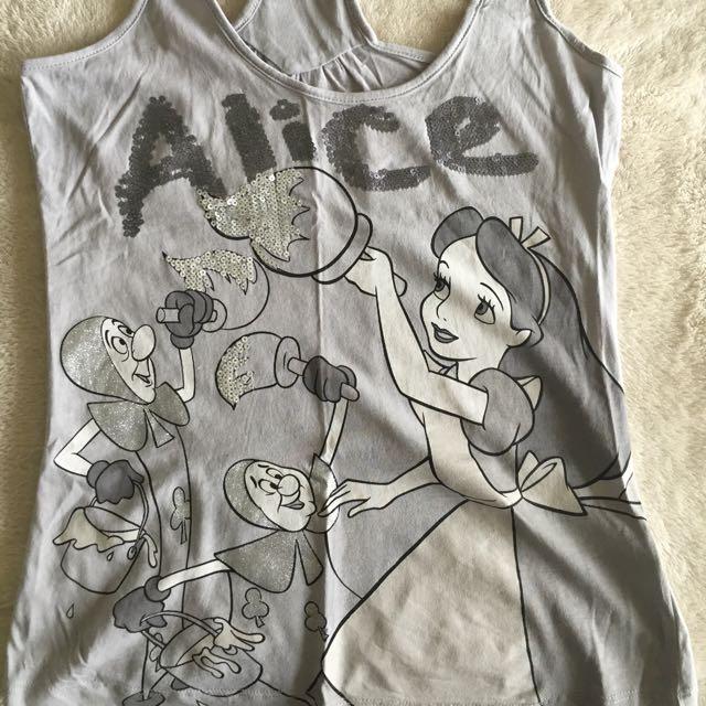 Alice In Wonderland Tank Top