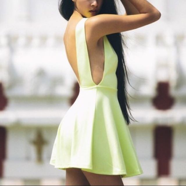 American Apparel Backless dress