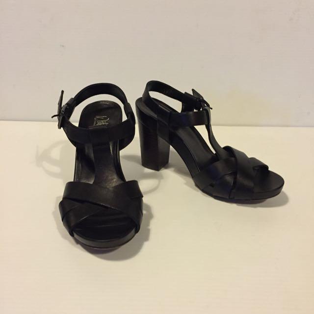 Black Wittner Heeled Sandals