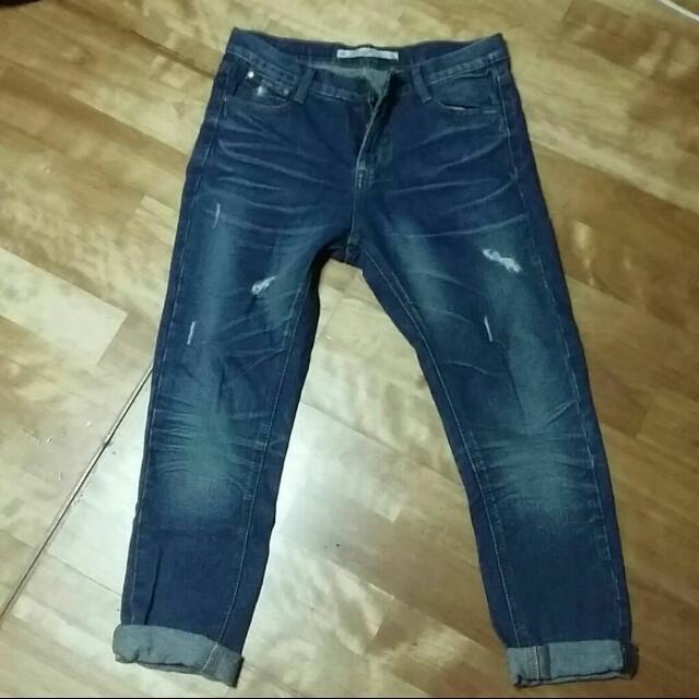 Boyfriend Jeans 男朋友褲