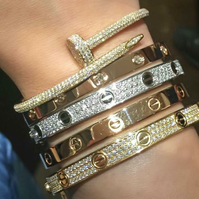 Cartier Bracelets Copy One