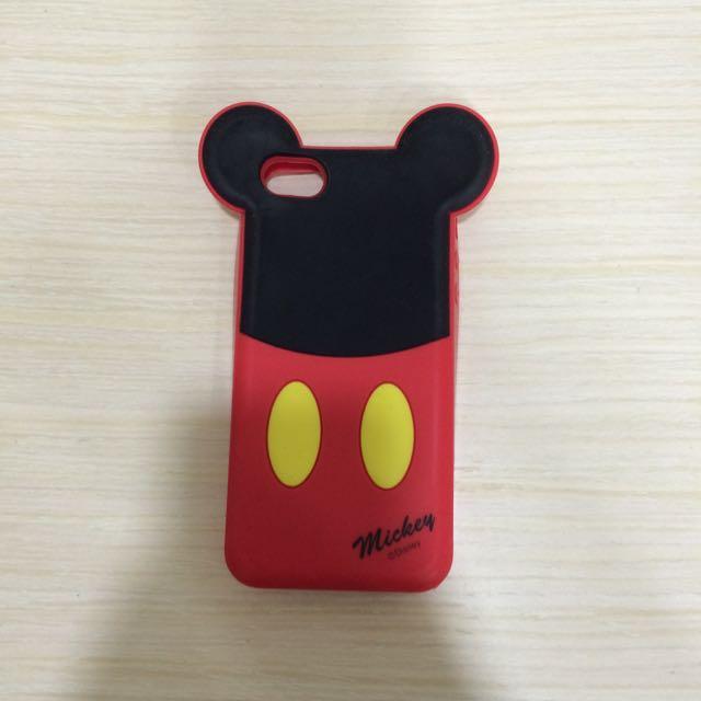 Disney 米奇手機軟殼 Iphone5適用
