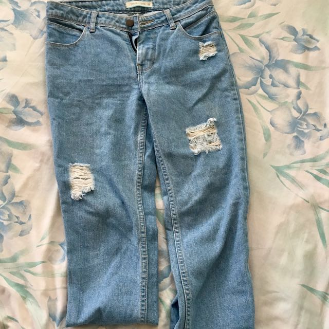 🚛 Free Shipping! 🚛 Distressed Boyfriend Jeans #freeshipping