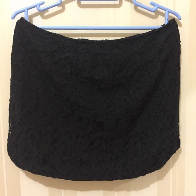 Ezra Black Mini Skirt
