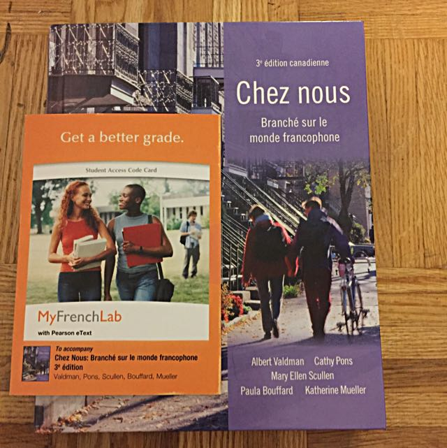 French Textbook Applicable To Fsl100 Fsl102