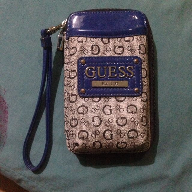 Guess phone pouch/wallet