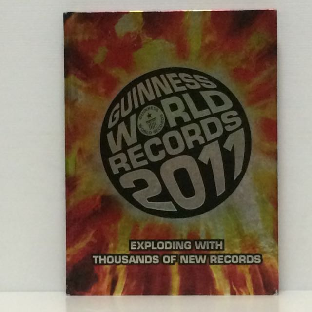 Guinness World Records 2011 - Like new