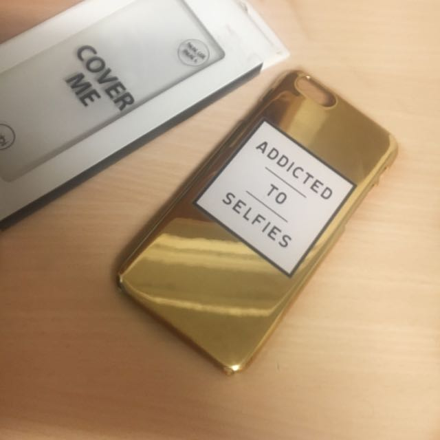 Iphone 6 or 6S Gold Phone Case