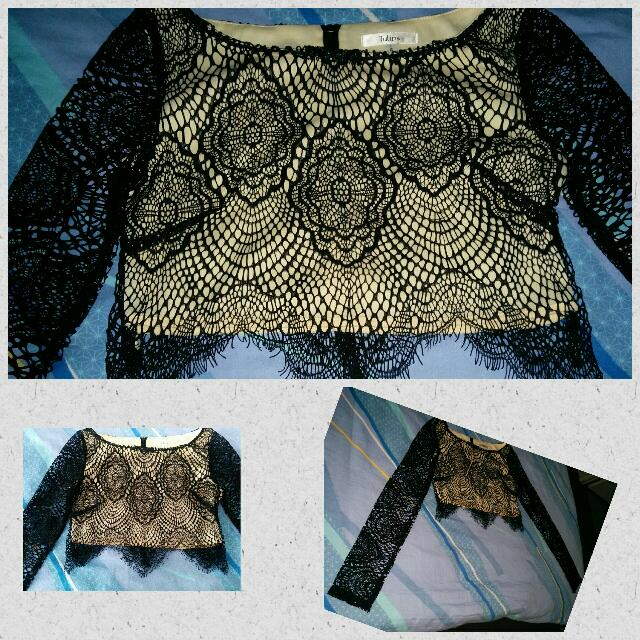 Lace Crop Top - New