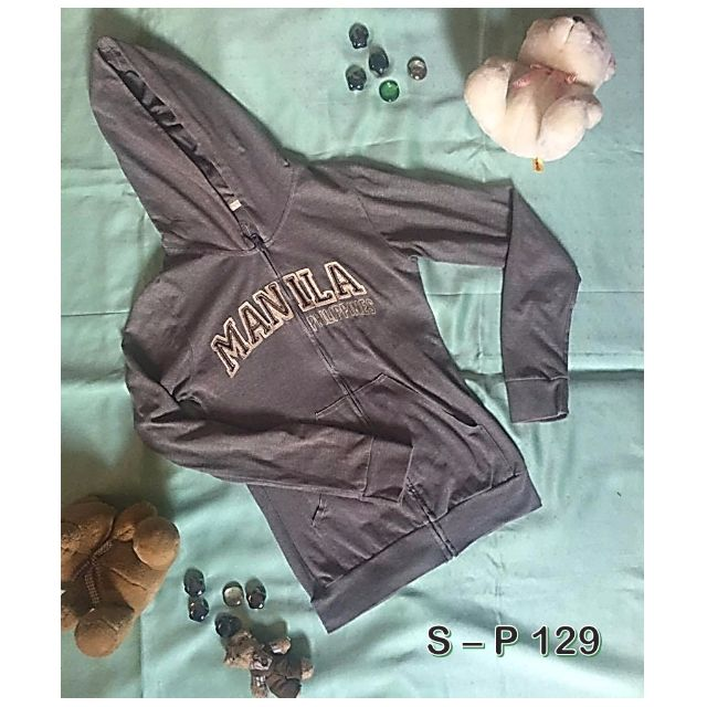 MANILA gray hoodie