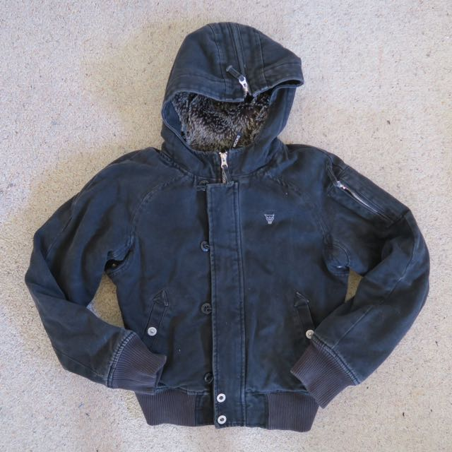 MOOKS Bomber Jacket With Hood 8