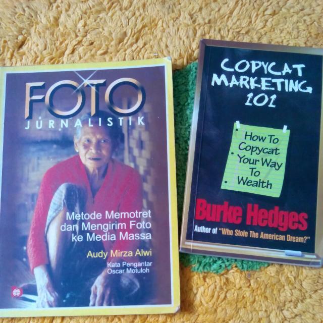 Nonfiksi: Jurnalistik & Copycat Marketing 101