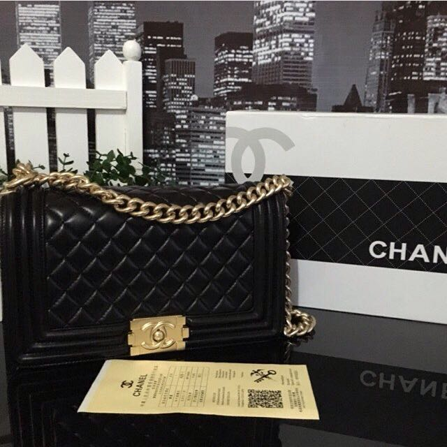 On Hand Chanel Le Boy GHW