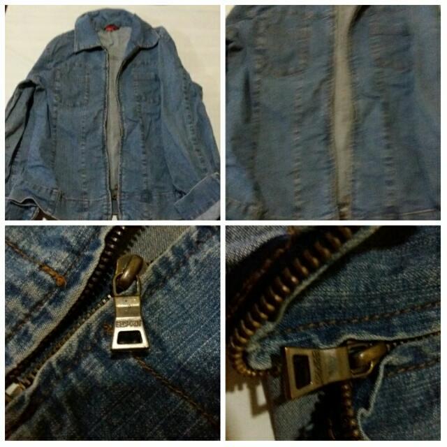 Preloved Esprit Maong Jacket