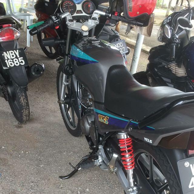 motor rxz boss