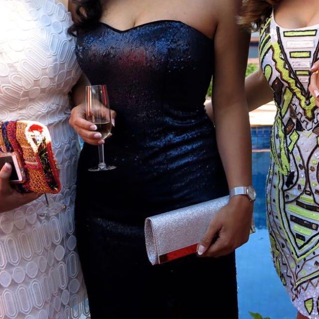 Sequinned Formal Dress