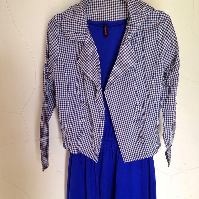 Set Long Dress + Blazer