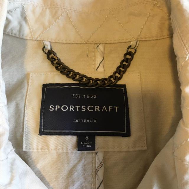 Sportscraft Coat Size 8