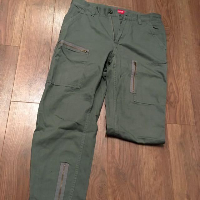 Supreme S/S '14 Olive Flight Pants 32W