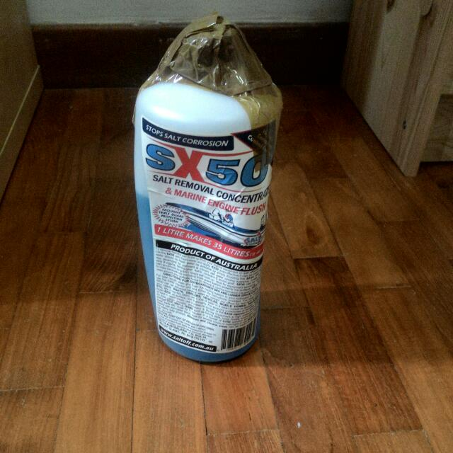 SX50 Saltoff Salt Removal Concentrate