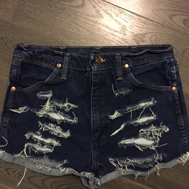 Vintage Ripped Aritzia Shorts