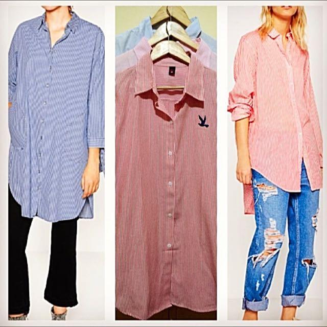 Zara inspired shirt dress