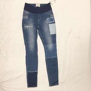 ASOS Patchwork Jeans