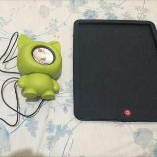 Portable Mobile Speaker & Ipad1case Orig.